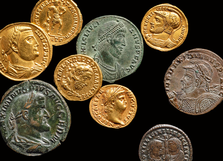 Evil Emperors – An exhibition in the coin collection