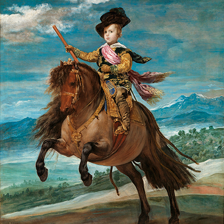 Baltasar Carlos on Horseback
